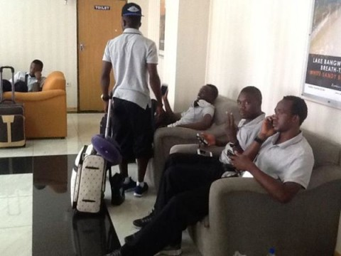Chipolopolo set for Kumasi The Chipolopolo is now about to board for their flight to Ghana. Zambia takes on Ghana at the Baba Yara on Friday in a crunch Group D FIFA World Cup Qualifier.