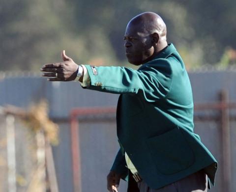 Green Buffaloes Coach Patrick Phiri