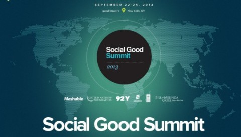 UNDP Social Good Summit on Monday 23rd