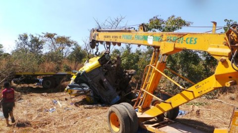 A Truck Accident on the Great North Road between Kapiri and Ndola [20/7/13]