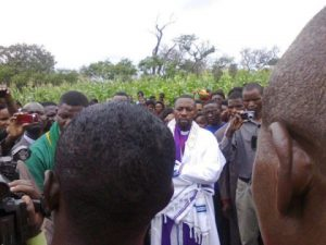 Bishop Haggai Mumba - Land purification in Chibombo