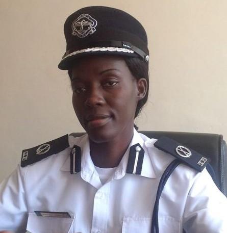 Zambia Police Spokesperson, Charity Munganga Chanda,