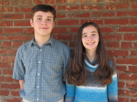 The eldest Sharp siblings, Justin, 14, and Katherine, 12, are preparing to spend seven weeks abroad for a medical mission in Zambia, Africa.