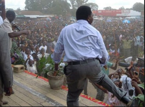 Image result for hakainde hichilema dancing