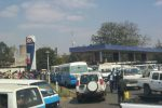 fuel shortage queue