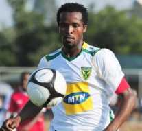 Golden Arrows defender Joseph Musonda