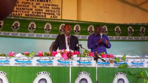 Kabimba - Opening the party district conference in Luwingu