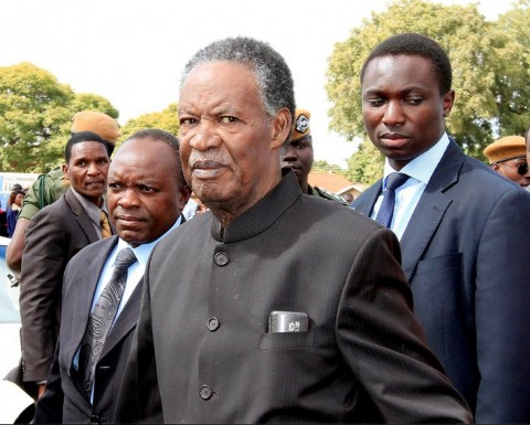 President Sata during the African Freedom Day Commemoration in Lusaka on May 25,2014 -Picture by EDDIE MWANALEZA — in Lusaka, Zambia.