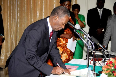 Sata swears in Kapumpa and Mwananshiku as Ambassadors