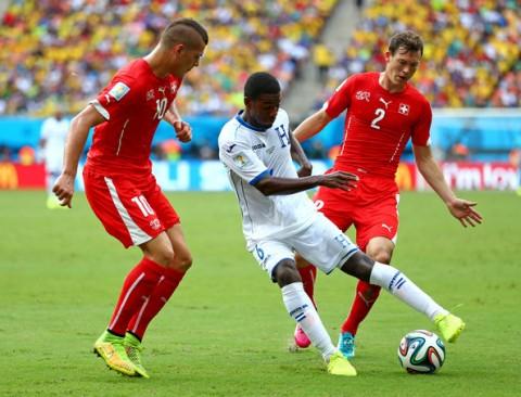 BRA Jun 25- Honduras 0 v 3 Switzerland- Group E 2014 FIFA World Cup