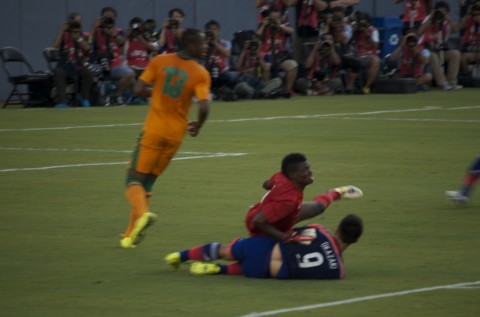 JAPAN VS ZAMBIA, RAYMOND JAMES STADIUM IN TAMPA