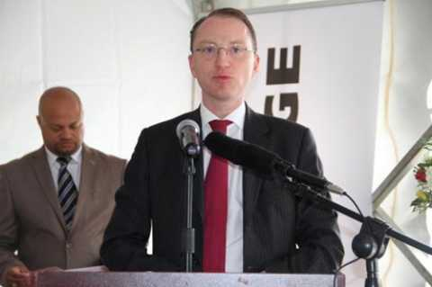 Lafarge Zambia, Mr. Emmanuel Rigaux, the CEO of the company