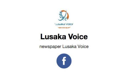 Lusaka Voice - facebook logo
