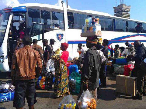 intercity bus terminal lusaka