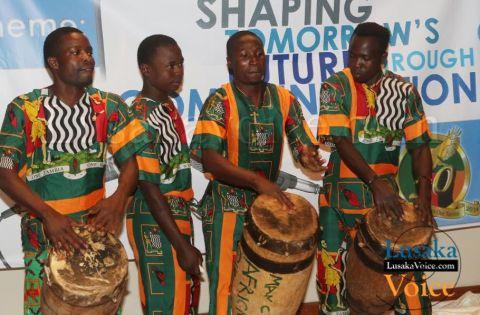 Africa Direction Troop entertaining ZAPRA patrons       - Lusakavoice.com
