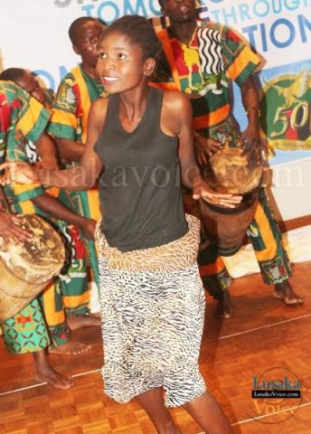 Lusaka Province PS Wamunyima Muwana and ZAPRA National Treasurer Deborah Kangende opening the floor - Lusakavoice.com