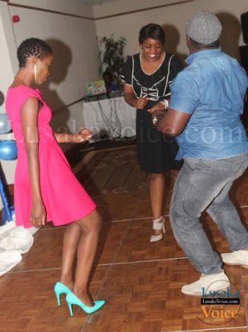 Some ZAPRA members dancing   - Lusakavoice.com