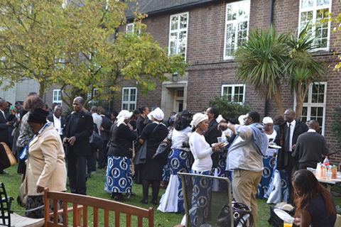 Funeral held for Sata in UK