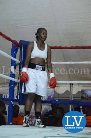 Zambian Boxer Esther Phiri vs Evelyn Odoro Kenyan Boxer