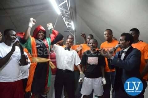 Esther Phiri vs Evelyn Odoro in Lusaka