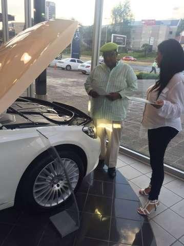 56th birthday GBM Mercedes Present