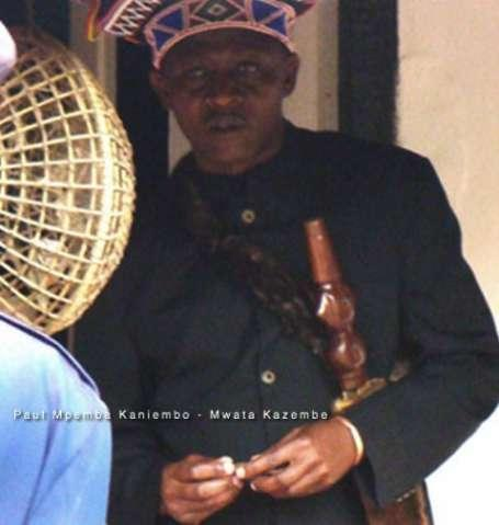 Paul Mpemba Kaniembo - Mwata Kazembe - Photo Credit -mutomboko.homestead-1