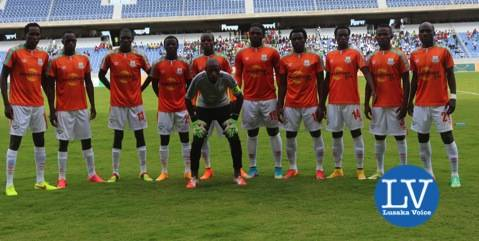 ZESCO United Team - Photo Credit Jean Mandela - Lusakavoice.com