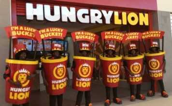 #‎LuckyBuckets getting ready for our Hungry Lion #‎MukubaMall opening