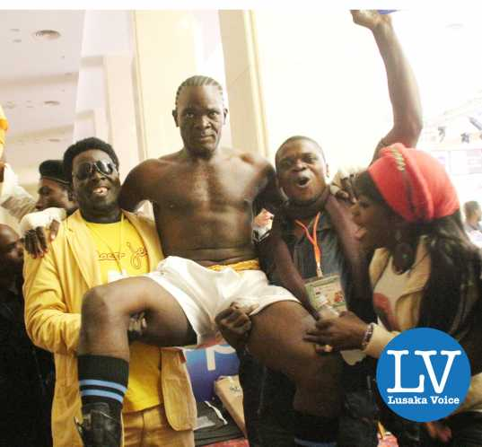 Light heavy weight international no title Exodus stables Anos Tewmfuma  (in a white short) vs Zimbabwe Nowell PMpofu , Anos won via a knock out