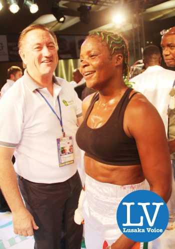 Zambian Female Boxer Esther Phiri