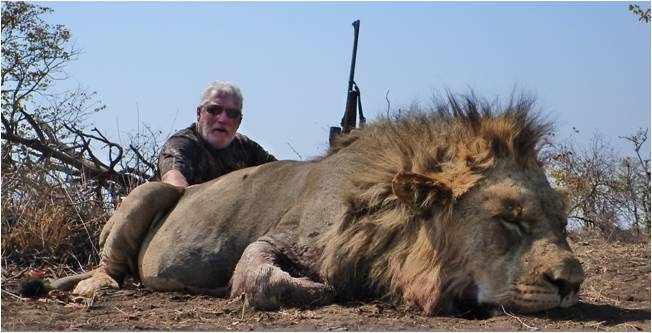 Lion Hunting   Shaun Buffee Safaris www.shaunbuffeesafaris.com