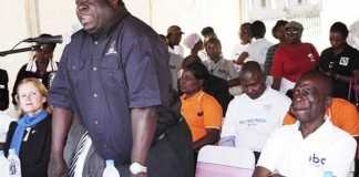 Minister of Information and Broadcasting Services Chishimba Kambwili - Photo credit Daily Mail