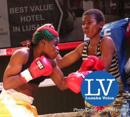 Esther Phiri vs Cassandra Almeida WIBA /WBF unification Welter Weight