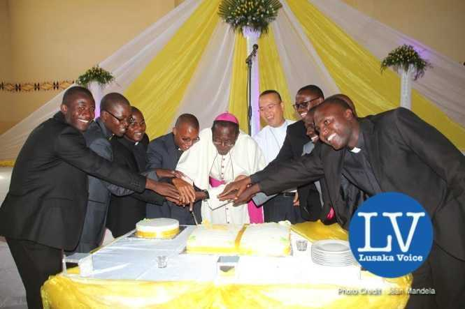 Lusaka Archdiocese Archbishop Telesphore George Mpundu