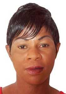 Zambian Netballer Annie Mukamba