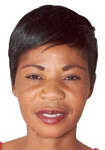Zambian Netballer Diana Banda