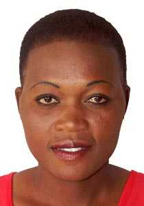 Zambian Netballer Joyce Mwanza