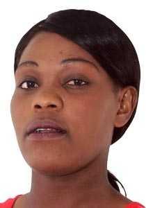 Zambian Netballer Lucy Jere