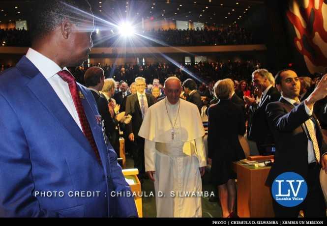 LUNGU AND POPE