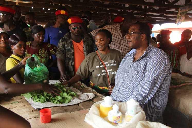Geoffrey Bwalya Mwamba - GBM with wife