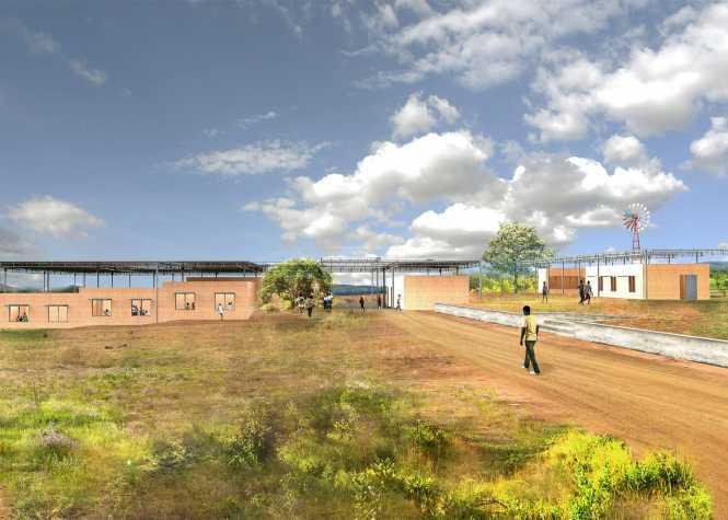 Selldorf Architects school Zambia