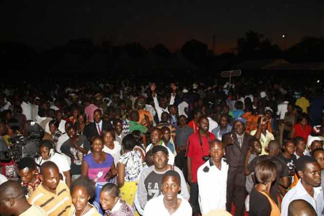 Zambia National Fasting and Prayer Church Service