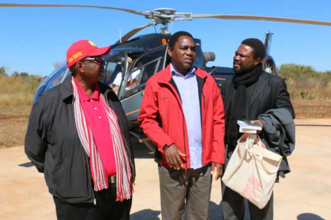 Dr. Canisius Banda departs for UPND's, HH Eastern Province tour with GBM