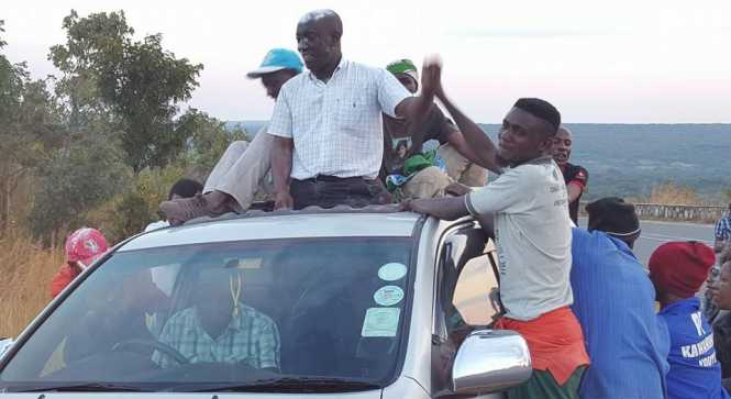 KAWAMBWA RESIDENTS PLEDGE 100 % VOTES FOR PRESIDENT LUNGU AS CHILANGWA ARRIVES TO A THUNDEROUS WELCOME