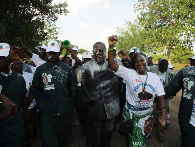 PF's Sebastian Kopulande in Chembe successfully files in his nomination papers
