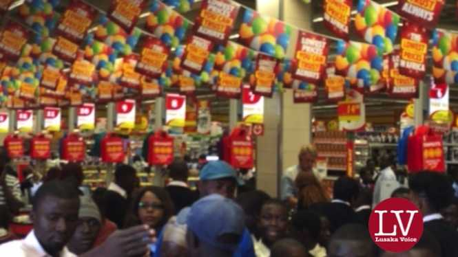 SHOPRITE & Solwezi Mall opening
