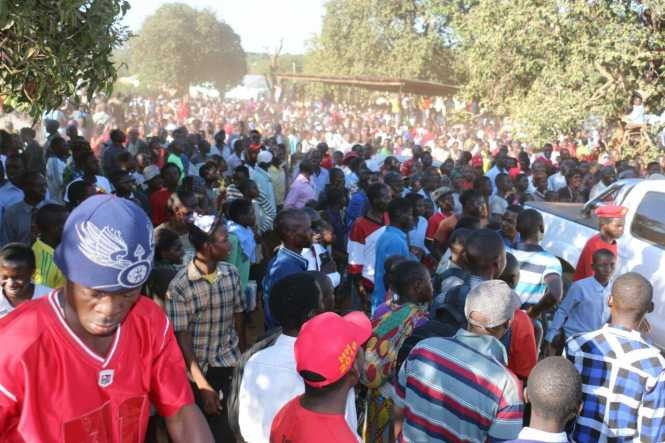 UPND Chinsali rally