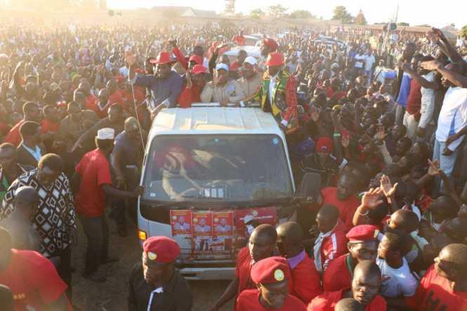 UPND Nakonde rally