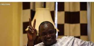 The President-elect of Gambia, Adama Barrow