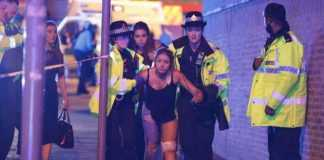 Ariana Grande concert at the Manchester Arena ended in mass evacuation after explosions reported after pop star's final song. Credit: Joel Goodman/London ...